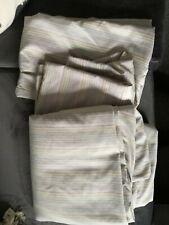 Striped Dunelm Double Duvet Set