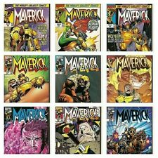 °MAVERICK #2 bis 10 from the pages of WOLVERINE-SABRETOOTH° US Marvel 1997