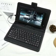 7inch Tablet PC Keyboard Flip Stand Case Keyboard Holster Mirco USB