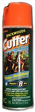 CUTTER 6oz Can BACKWOODS Insect Repellent WATER RESISTANT Sport Formula DEET 23%