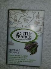 South of France HERBES DE PROVENCE French Milled Bar Soap Organic 1.5 oz New