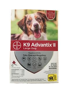 k9 advantix ii 21-55 6 pack