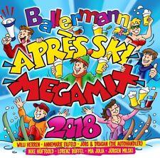 BALLERMANN APRES SKI MEGAMIX 2018 (Willi Herren) 2 CD NEU