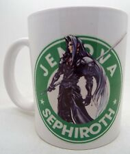 Sephiroth Final fantasy 7 8 9 10 11 12 13 VII Starbucks Parody 11oz Mug Mugs qua