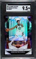 2020-21 Donovan Mitchell Panini Certified The Mighty SGC 9.5 (Comp PSA) Jazz