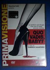 30395 DVD - Quo vadis, Baby? - Regia Gabriele Salvatores - 2004