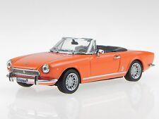 1:43 1970 Fiat 124 Spider BS (Orange) LIMITED EDITION - Vitesse Diecast 24604