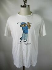 F2574 Polo Ralph Lauren Men's POLO BEAR Short Sleeve Crewneck T-shirt Size XL