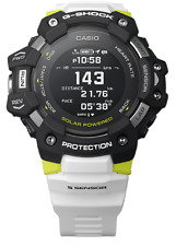 CASIO G-Shock GBDH1000-1A7 Move Watch Heart Rate Step Tracker White Yellow
