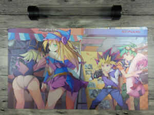 YuGiOh OCG TCG Custom Playmat CCG Trading Card Game Mat Free High Quality Tube