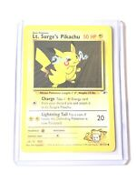 LT. SURGE'S PIKACHU - Gym Heroes Set - 81/132 - Common - Pokemon Card - NM