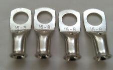 25 mm² tube en cuivre anneau sertir terminaux avec 8 mm trou//clous Pour Batterie Câbles