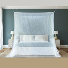 Mosquito Net Hung Dome Folded Full Size Adults Camping Bedding Mesh Canopy