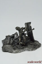 Tin soldier, figure. Diorama rain from the arrows 54 mm