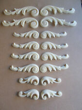 FURNITURE MOULDINGS Ornate Scrolls Decorative Furniture Projects White