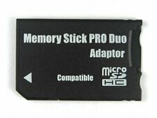 MICRO SD TO MEMORY STICK PRO DUO ADAPTER FOR SONY PSP