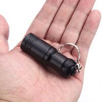 5000LM Mini X-XM-L T6 Keychain LED Flashlight Torch 3 Mode Lamp Light Black MT