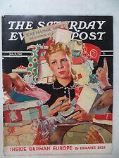 Saturday Evening Post Magazine  January 11,1954  Douglass Crockwell  VINTAGE ADS