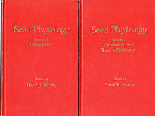 "DAVID R. MURRAY (Editor) - ""SEED PHYSIOLOGY"" - 2 VOLS - ACADEMIC PRESS HB (1984)"