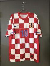 Hrvatska Croatia National Team Nike Soccer Jersey Red HNS World Cup XL