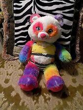 Build A Bear Multi-Colored Fox /Bear Plush Stuffed in Bikini outfit Euc