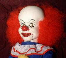 "Haunted Ventriloquist It Clown Doll ""EYES FOLLOW YOU"" Creepy, Dummy, Puppet OOAK"