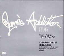 Jane's Addiction ' Strays ' CD album with bonus DVD in slipcase, 2003 Parlophone