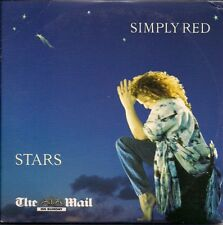 Simply Red Stars CD from The Mail on Sunday in card slipsleeve UK CD