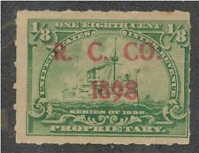 RB 20  R. C. Co.. proprietary stamped 1898.....................160503