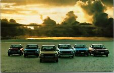 Old Postcard 1978 Honda Civic 1200 CVCC Accord LX Car Wagon Sedan Advertising B9