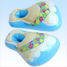 Blaue aufblasbare Hawaii Badeschuhe Schuhe aufblasbar Badelatschen Fasching JGA