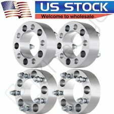 "(4) 2"" Wheel Spacers Adapters 5x4.5 For Jeep Wrangler Tj Yj Xj Kj Kk Zj Mj Ford"