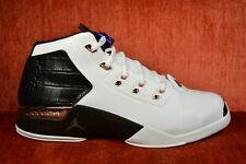 WORN TWICE Nike Air Jordan 17 XVII + White Black Copper Retro 832816-122 Size 11