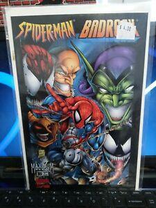 Spider-Man Badrock  #1B Marvel Image Crossover Comic Book Set 1B