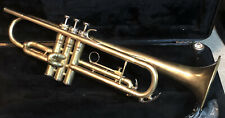 King 600 Trumpet - Raw Brass - Excellent Condition