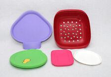 Tupperware - Lot de 5 accessoires / pièces détachées / Couvercles / Passoire