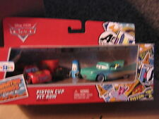 DISNEY CARS RADIATOR SPRINGS CLASSIC 3-PACK  PISTON CUP PIT ROW TRU EXCLUSIVE