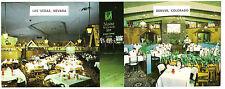 Alpine Village Inn Stardust 1959 Las Vegas Strip Denver Restaurant Postcard Rare
