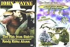 John Wayne; The Man From Utah - Randy Rides Again (DVD) & TBOT 777 Ranch (DVD)