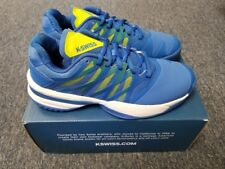 Men's K-Swiss Ultrashot Size 7 Tennis Shoe Strong Blue Neon Citron