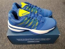 Men's K-Swiss Ultrashot Size 9.5 Tennis Shoe Strong Blue Neon Citron