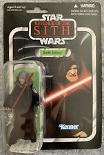 STAR WARS Darth Sidious VC12 ROTS Vintage Collection Punched MOC Hasbro C9+