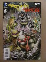 Batman Teenage Mutant Ninja Turtles #1 #2 #3 #4 #5 #6 DC IDW 1ST PRINTS 9.6 NM+