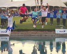 BRITTANY LINCICOME signed LPGA 8x10 ANA POPPY'S POND photo with COA