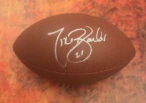 GFA New York Giants Running Back TIKI BARBER Signed NFL Football T2 COA