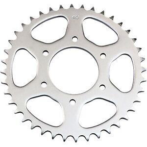 Parts Unlimited - 64511-30700 - Steel Rear Sprocket, 40T Suzuki TM 250 Champion,