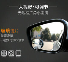 NEW Car Blind Spot Mirror Rearview Wide Angle Round Rotation Adjustable 1pair