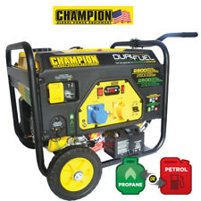 CHAMPION 2800 WATT DUAL FUEL GENERATOR WITH ELECTRIC START UK Spec CPG3500E2-DF