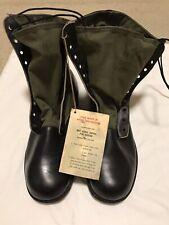 Genuine Us Military Vietnam Era Od Jungle Boots Spike Protective Chevron Sole