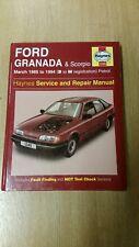 FORD GRANADA MK3 SCORPIO 1985-94 HAYNES WORKSHOP MANUAL 1245 CLEAN COND FREE P&P